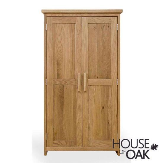 Opus Solid Oak CD/DVD Cabinet