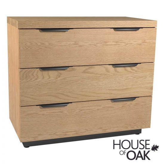 Harmony Oak 3 Drawer Chest