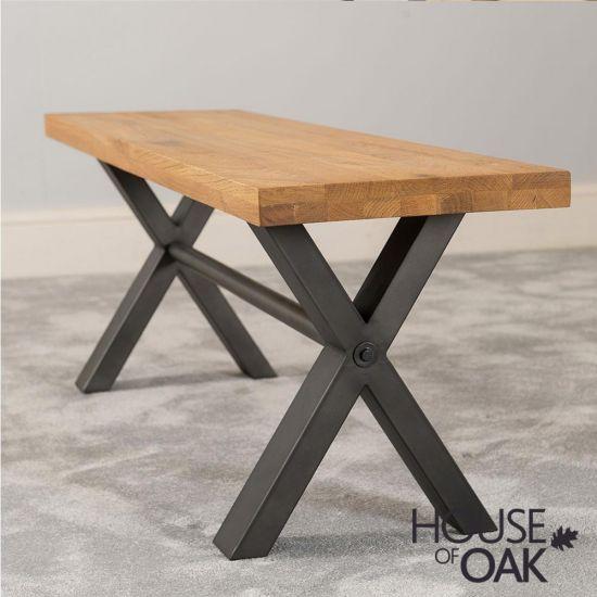 Harmony Oak - 140cm Bench