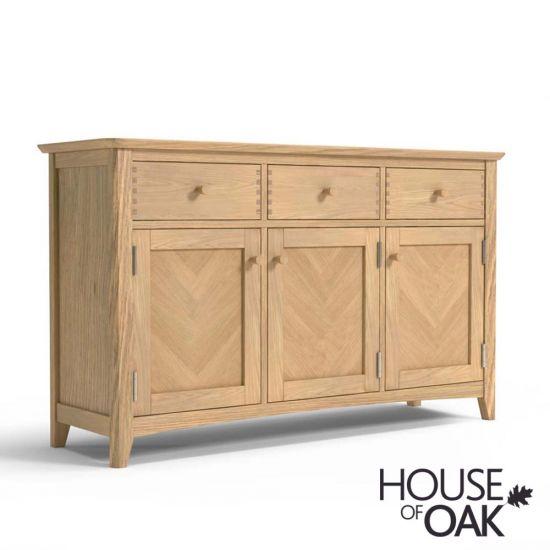 Malmo Oak Large Sideboard