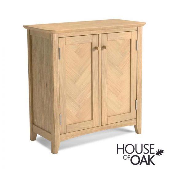 Malmo Oak Storage Cabinet