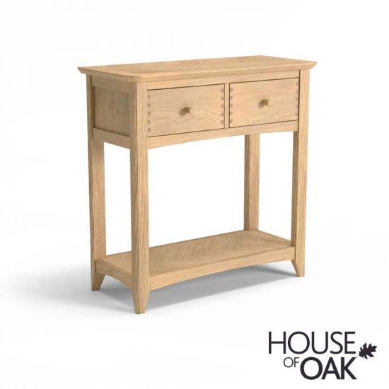 Malmo Oak Console Table