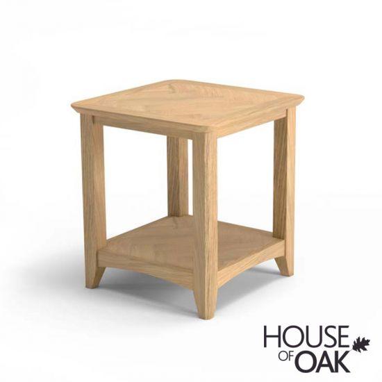 Malmo Oak Square Coffee Table