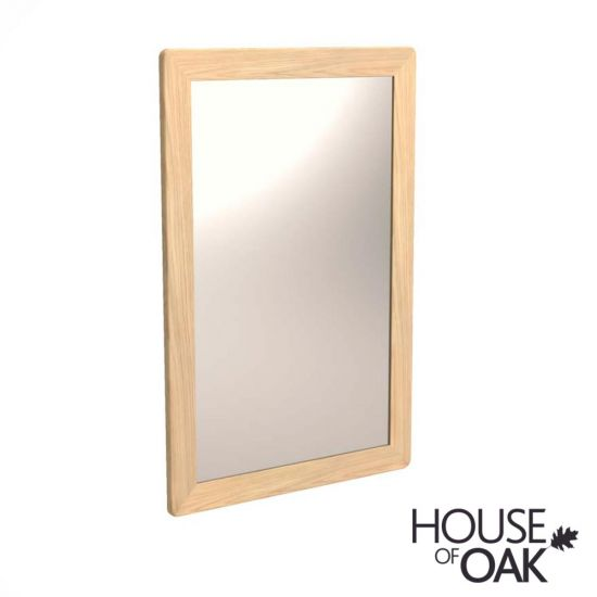 Malmo Oak Wall Mirror