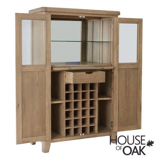 Chatsworth Oak Drinks Cabinet