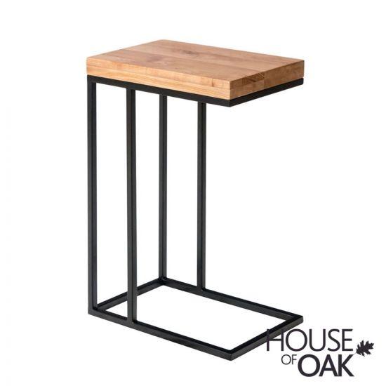 Forged Oak Sofa Table