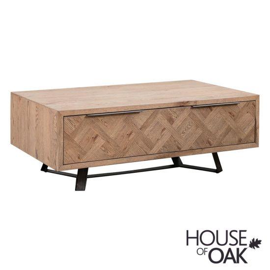 Parquet Oak Coffee Table