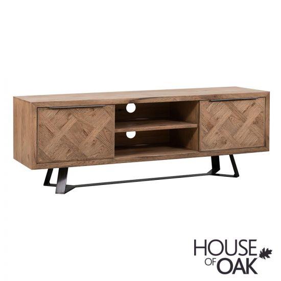 Parquet Oak TV Cabinet
