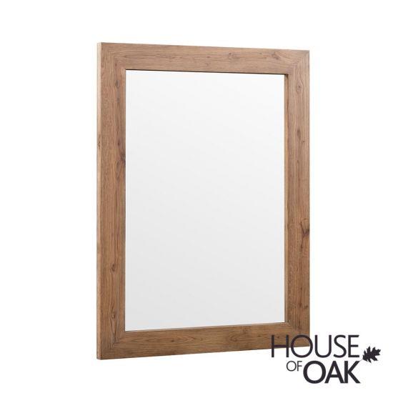 Parquet Oak Wall Mirror