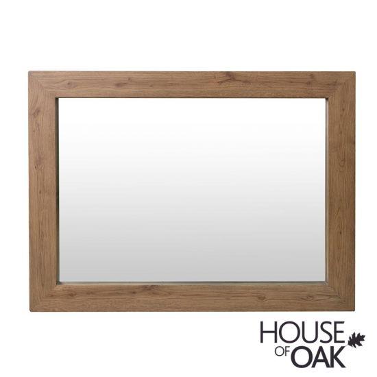 Parquet Oak Bedroom Wall Mirror