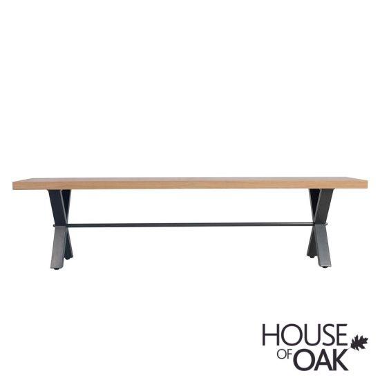 Fusion Oak 130cm Bench