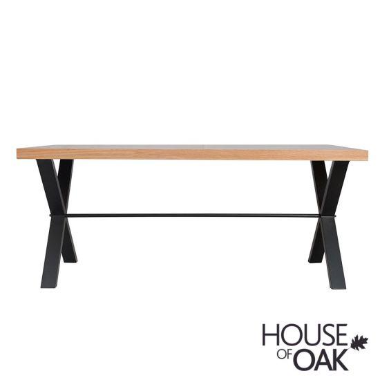 Fusion Oak 130cm Dining Table