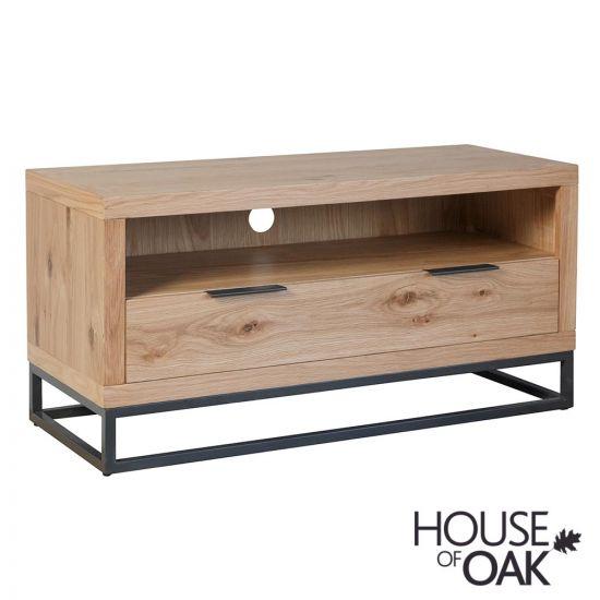 Fusion Oak Small TV Unit