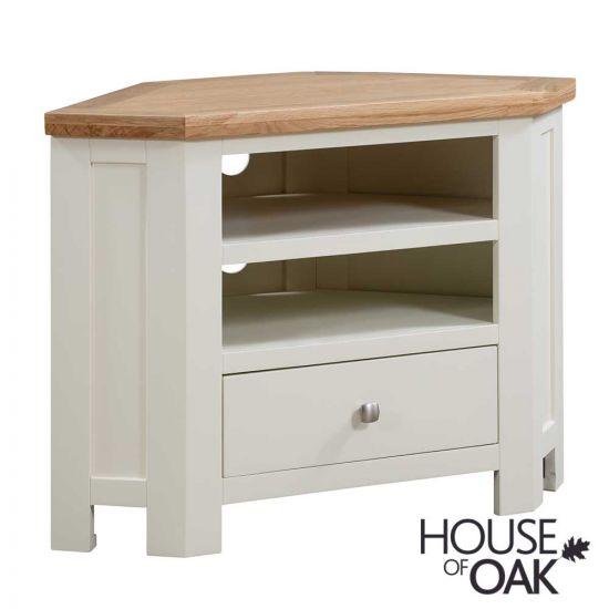 Keswick in Ivory Corner TV Cabinet
