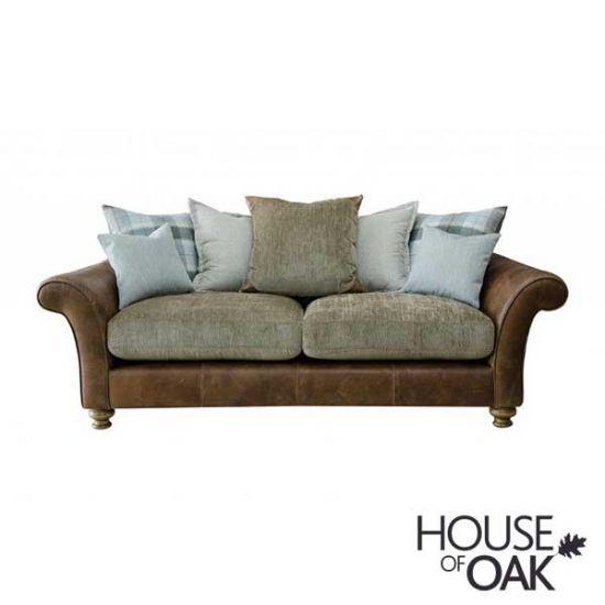 Alexander & James Lawrence 3 Seater Pillow Back Sofa - Option 1