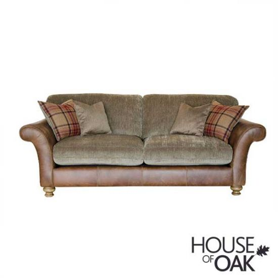 Alexander & James Lawrence 3 Seater Standard Back Sofa - Option 2