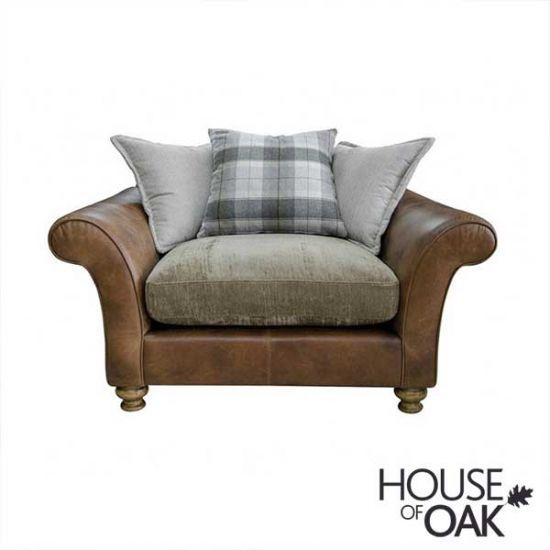 Alexander & James Lawrence Snuggler Pillow Back Chair - Option 1