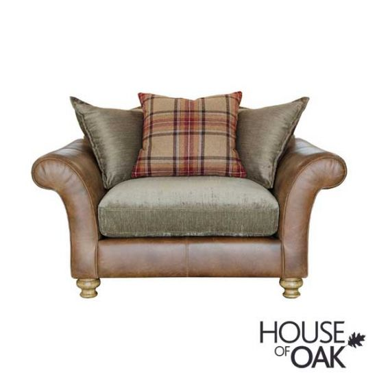 Alexander & James Lawrence Snuggler Pillow Back Chair - Option 2