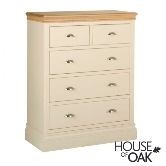 Ambleside 2 Over 3 Chest of Drawers in Ivory
