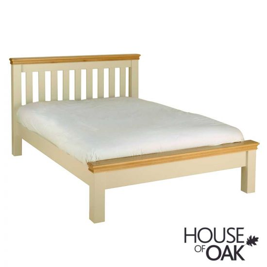 Ambleside 4FT 6'' Low Foot End Double Bed in Ivory