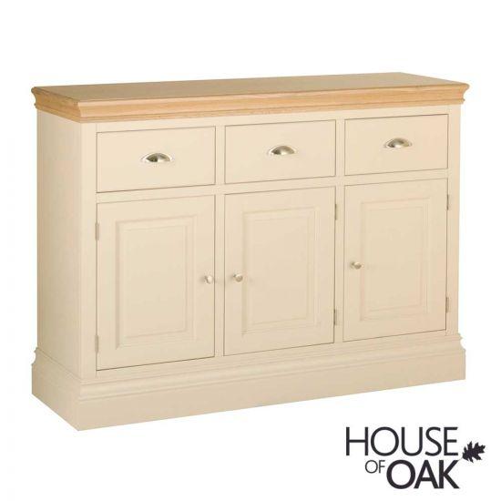Ambleside 3 Door 3 Drawer Sideboard in Ivory