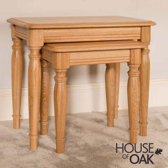 Lyon Oak Nest of Tables