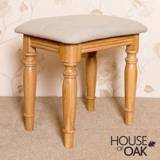 Lyon Oak Bedroom Stool