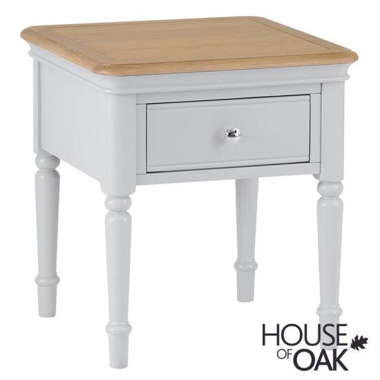 Chelsea Grey Lamp Table
