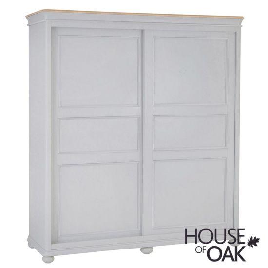 Chelsea Grey Sliding Door Wardrobe