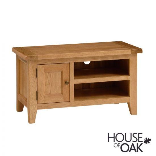 New Hampshire Oak Small 1 Door TV Unit