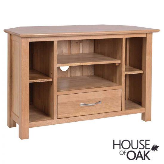 Coniston Oak Corner TV Cabinet