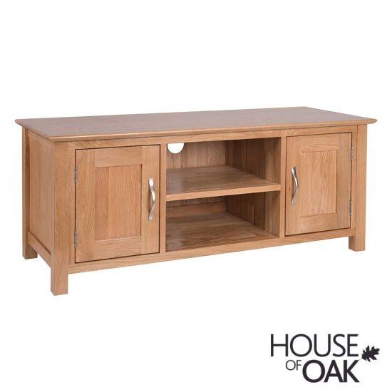Coniston Oak 2 Door TV Cabinet