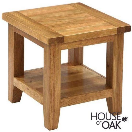 New Hampshire Oak Square Coffee Table