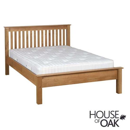 Coniston Oak 4FT 6'' Low Foot End Double Bed