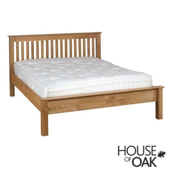 Coniston Oak 5FT Low Foot End King Size Bed