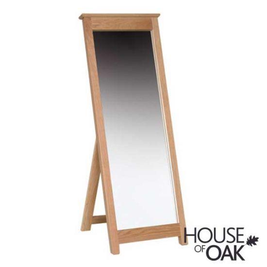 Coniston Oak Cheval Mirror