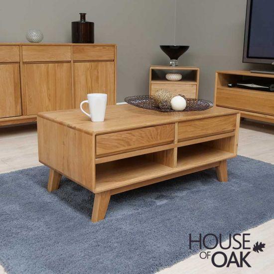 Eden Solid Oak Coffee Table