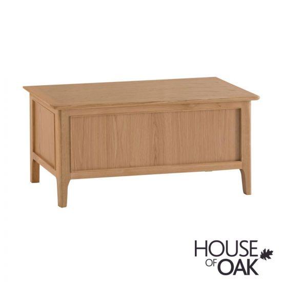 Oslo Oak Blanket Box