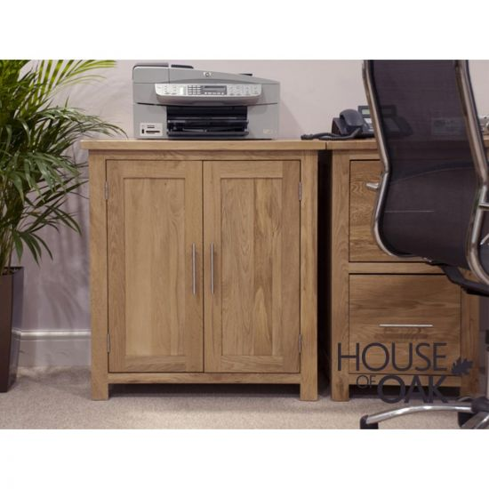 Opus Solid Oak Occasional Cabinet