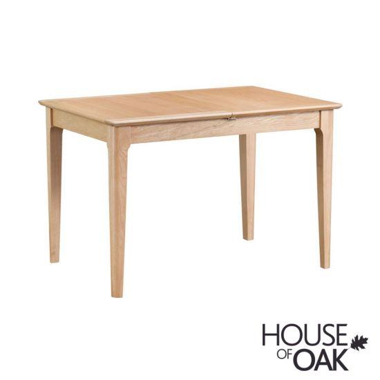 Oslo Oak 120cm Butterfly Extending Table