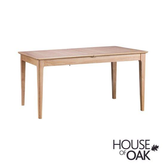 Oslo Oak 160cm Butterfly Extending Table