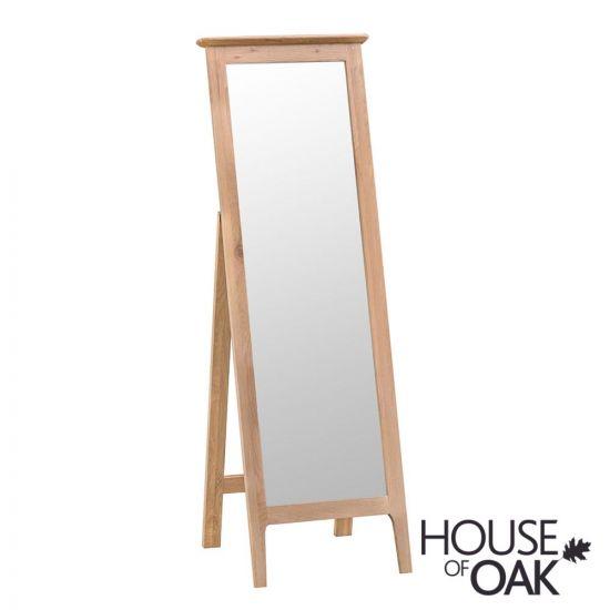 Oslo Oak Cheval Mirror