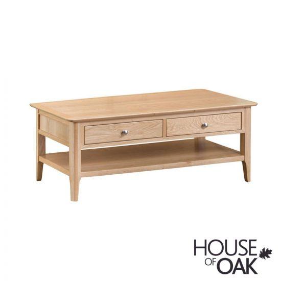 Oslo Oak Large Coffee Table