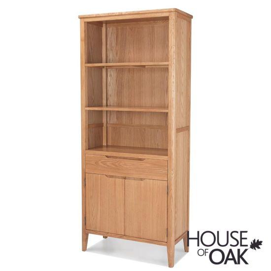 Copenhagen Oak Tall Bookcase