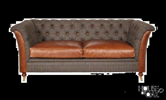 Granby 2 Seater Sofa in Moreland Harris Tweed