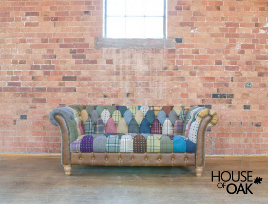 Harlequin Patchwork 2 Seater Chester Club