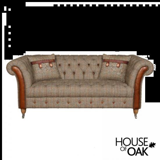 Chester Lodge 2 Seater Sofa in Hunting Lodge Harris Tweed