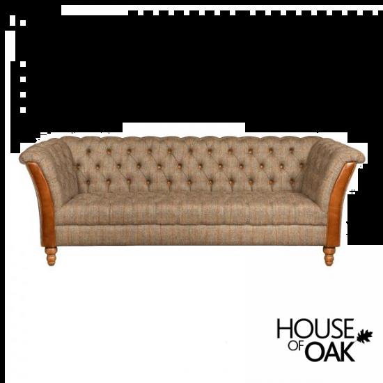 Milford 3 Seater Sofa in Hunting Lodge Harris Tweed