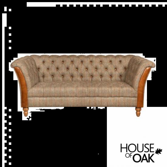 Milford 2 Seater Sofa in Hunting Lodge Harris Tweed