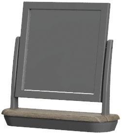 Cumbria Slate Trinket Mirror
